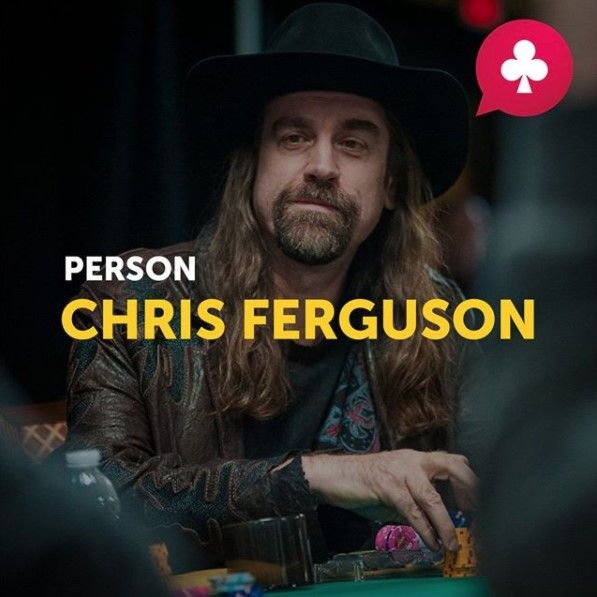 One day in poker consists of 90% of luck and 10% of skills. One year in poker consists of 10% of luck and 90% of skills. These words belong to Chris Ferguson.  This American player knows what he's talking about – he is the owner of five WSOP bracelets and has been playing poker since 10 years old. Interestingly, Ferguson is one of the world's most scandalous players. But his experience and skills fully compensate his ill temper.