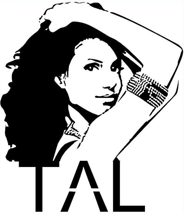 Silhouette portrait/caméo chanteuse TAL