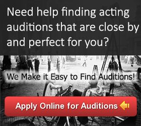 Find local auditions and casting calls on 2015Auditions.com today! Apply to hundreds of acting auditions for movies, TV, extra roles and more.
