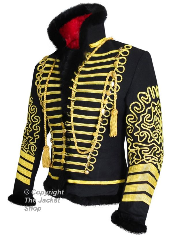 Hussars Russian Military Pelisse Tunic Fur Jacket - $599.99 : The ...