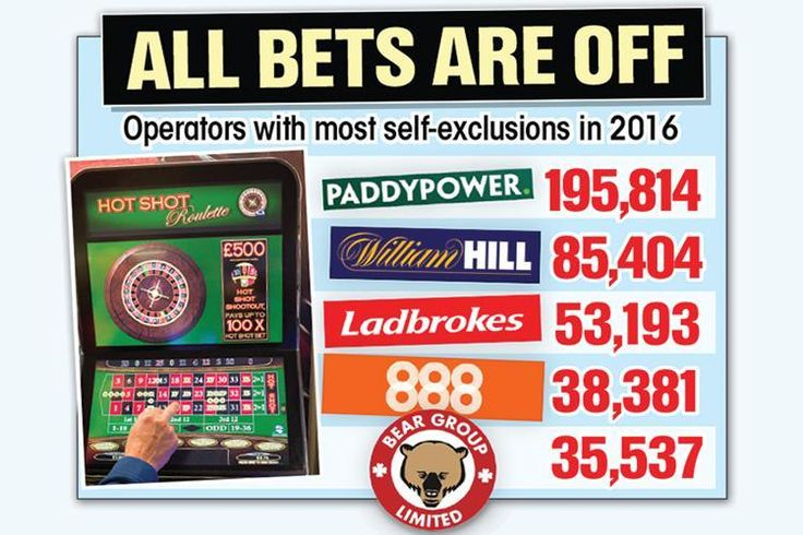 "GAMBLING addicts made more than a million requests for bookies and online casinos to ban them last year.  Pleas to be barred under the betting industry's ""self-exclusion"" scheme surged by 50 per cent, figures obtained by The Sun reveal.  The total topped 1.1million — up by 330,000 on 2015 and double the number in 2014."