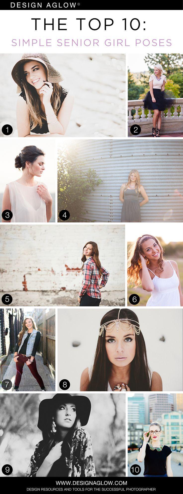 The Top 10: Simple Senior Girl Poses #designaglow