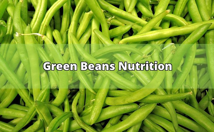 What's So Great About The Green Beans Nutrition?  The green beans nutrition is derived not only from the wonderful seeds within, but also from the tender, often sweet pod shell which surrounds them. The pods on these legumes are one of the few which are completely pallet friendly, and which have good... - #green beans #nutrition #bush #serving