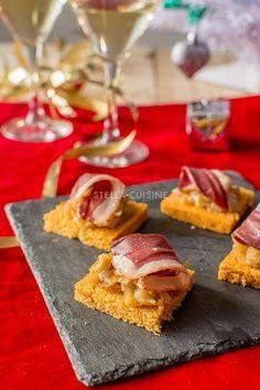 Recette de Toasts aux oignons caramélisés et magret de canard | StellA Cuisine !!! Recettes faciles, Recettes pas chères, Recettes rapides