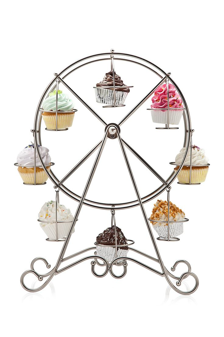 Godinger | Shiny Ferris Wheel Cupcake Holder | Nordstrom Rack