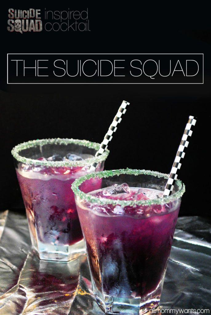 Suicide Squad Cocktail