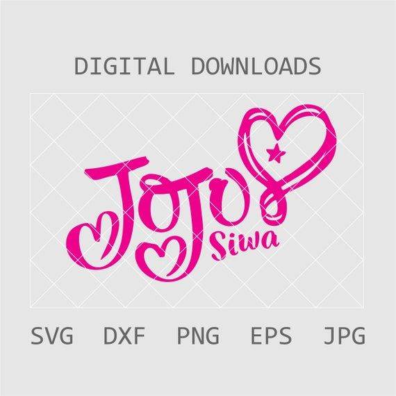 Jojo Siwa Logo Jojo Siwa Squad Svg Jojo Siwa Logo Svg Jojo Siwa Svg Jojo Siwa T Shirt Svg Jojo Siw Jojo Siwa Jojo Siwa Birthday Tshirt Crafts