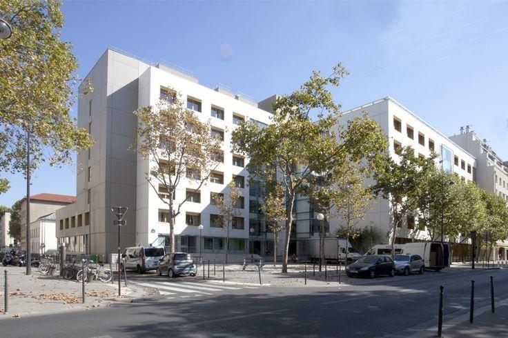 Restructuration de l'EHPAD Anselme Payen - Paris (75) - MO : Centre d'action sociale de la Ville de Paris - MO délégué : SemPariSeine - Architecte : AD QUATIO - Photographe : Hanna Darabi