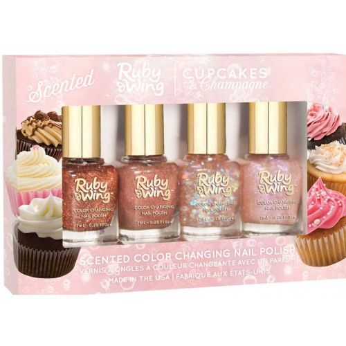 Cupcakes and champagne, zonverkleurende nagellak herfstcollectie Ruby Wing