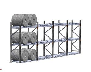 Coil Rack - Macrack Australia, Mansfield Qld. Call on 1800 048 821 for more info and free design service.