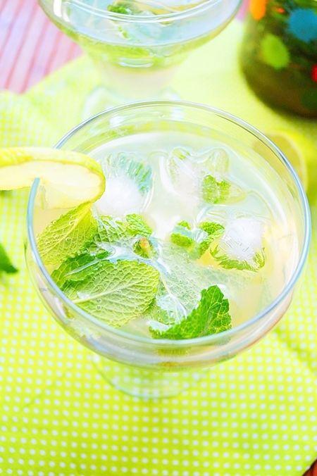 Mojito sans alcool, cocktail menthe-citron vert