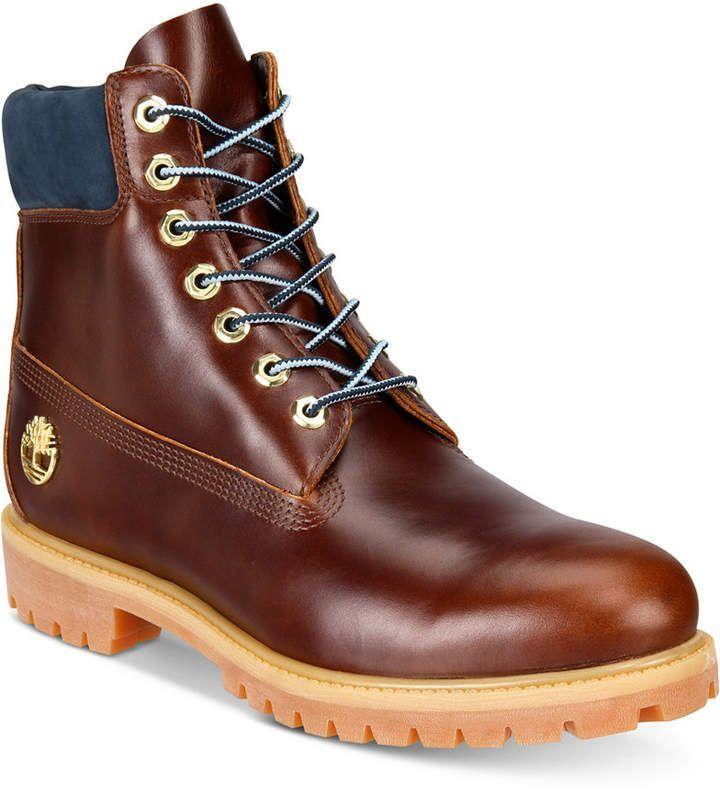 6b8a9d7447e4 Timberland Men s 6 Boot, Created for Macy s Men s Shoes  macysmensboots