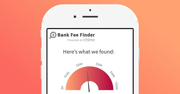 Bank Fee Finder by Chime  Find out how much you're really paying in bank fees.