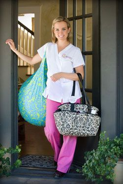 Great doula website by Nina Bassett. Looking good with her birth ball cover too!!