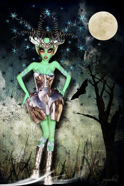 Aliens...artwork by joyuslion