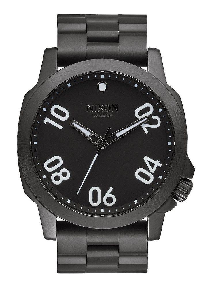 Reloj Nixon Ranger 45 All Black - Relojes - Accesorios - Trakan