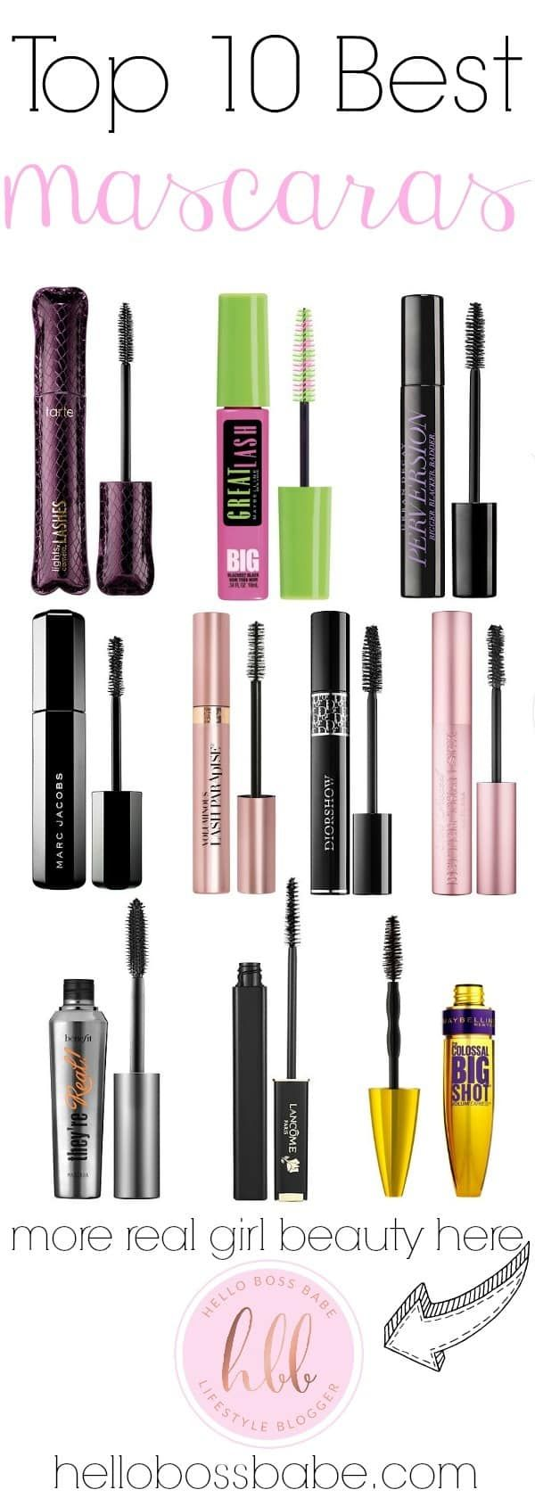 Top 10 Best Mascaras ·