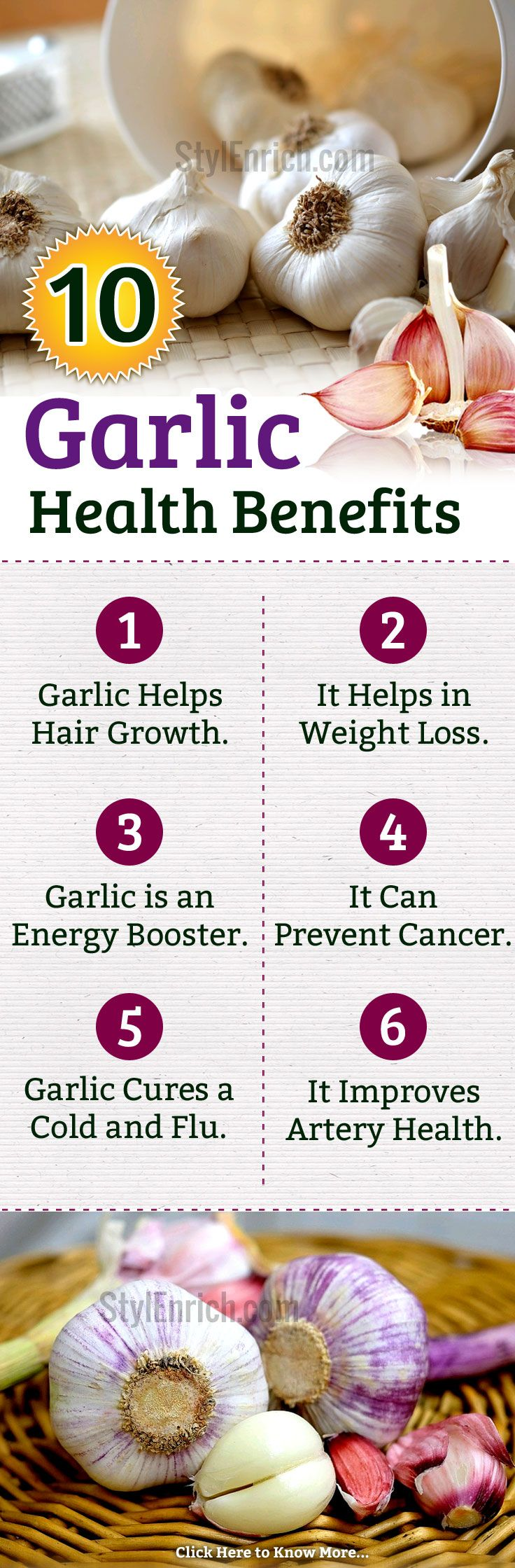 #Garlic is one of the most common #Herbs that is used to not just flavour your food, but also used as a medicine to treat myriad health ailments. Here we present to you a few of the many #HealthBenefits of garlic that you did not know before!
