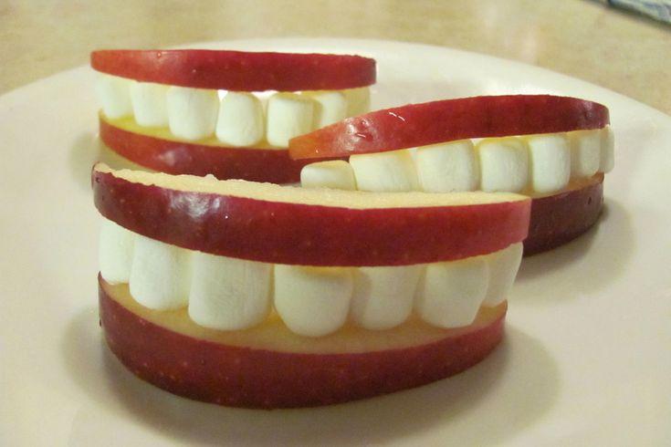 apple smiles - DIY - funny =)