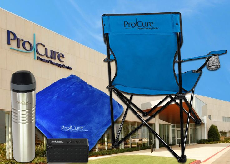 Employee Appreciation Gifts - ProCure in Oklahoma City is doing a fantastic job of celebrating their team member's birthdays with premium products branded with their logo.
