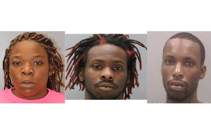 Girls found in the St. Andrew's area Regency Inn Motel being Human Trafficked for sex by these 3 Idiots (From left to right) Daniele Burns (18), Kristopher Davis (25), Geordi Heyward (22)