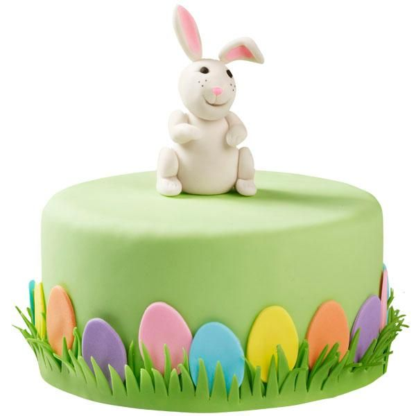 Bunny Easter Cake tutorial