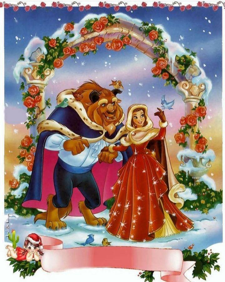 Pin De Kailie Butler En Disney S Beauty And The Beast Princesas Disney Navidad Disney Fondo De Pantalla Princesa Disney