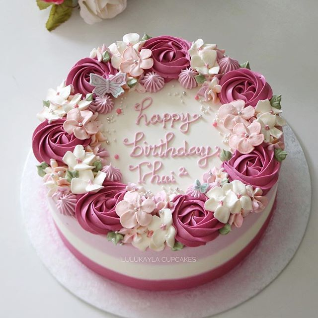 Cakes Cake Roseblossomlk Buttercreamcake Flowercake Birthdaycake Cupcakes Cakeshop Bestcake Cakejakarta Cake Decorating Cake Birthday Cake Decorating