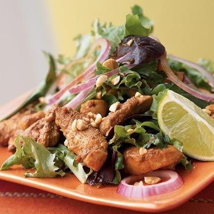 Stir -fried Chicken Salad.