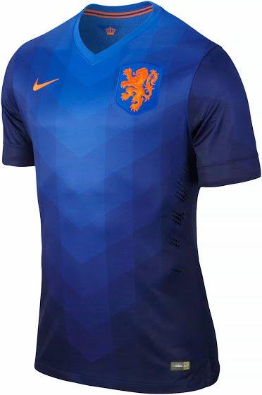 Netherlands 2014 World Cup Away Shirt (Official) sale at http://brazilsworldcupshirts.co.uk/