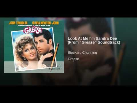 """Look At Me I'm Sandra Dee (From """"Grease"""" Soundtrack) - YouTube"""