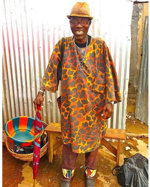 Sierra Leone Fashion pack. Photo by Jo Dunlop.