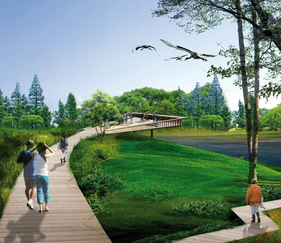 Landscaping Project North Texas: Best 25+ Landscape Architecture Perspective Ideas On Pinterest
