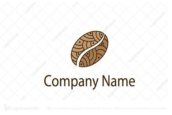Logo for sale: Coffee Bean Design Logo