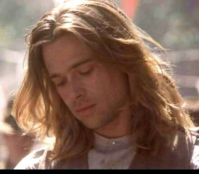Brad Pitt As Tristan Ludlow In Legends Of The Fall 1994 Brad Pitt Brad Pitt Images Brad And Angelina