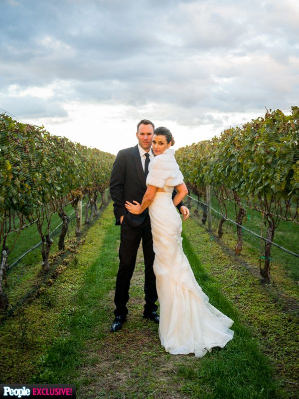 Bridget Moynahan's Custom J. Mendel Wedding Gown and Sparkling Accessories: All the Exclusive Details! http://stylenews.peoplestylewatch.com/2015/10/22/bridget-moynahan-wedding-dress-exclusive-photos-details/