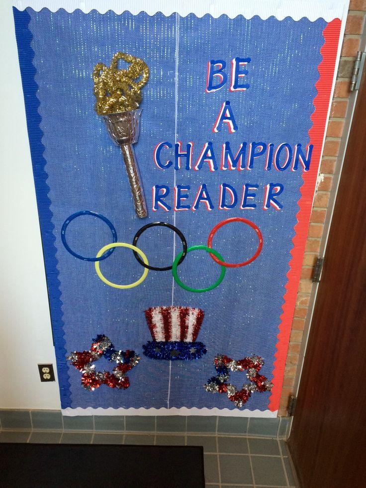 Classroom Olympics Ideas ~ Best reading bulletin boards ideas on pinterest