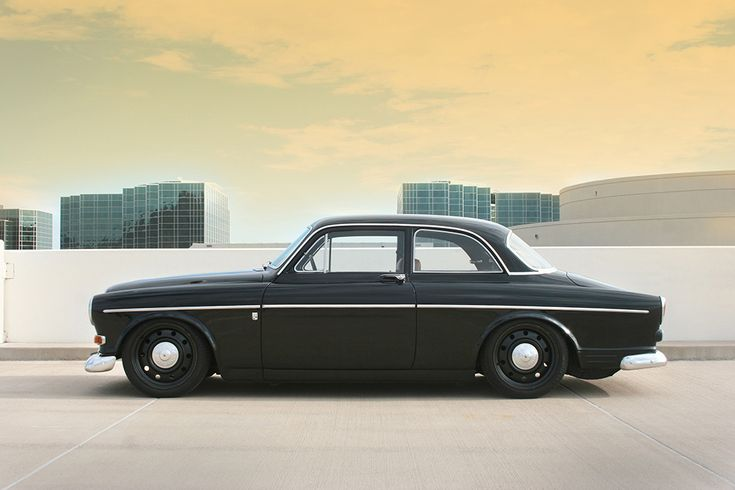 """Volvo 122 """"Amazon"""": Not nearly as sporty as a Z, but a classic Volvo like this or a P1800 is fairly inexpensive to get into.  It looks good lowered, but probably won't thrill like some other cars here"""