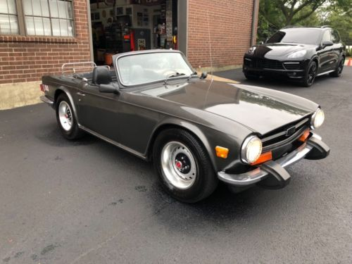 Details about 1972 Triumph TR-6 | Hot Rods      love those