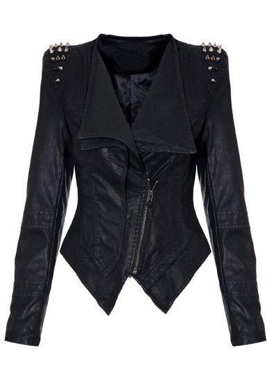 Lookbookstore studded leather jacket