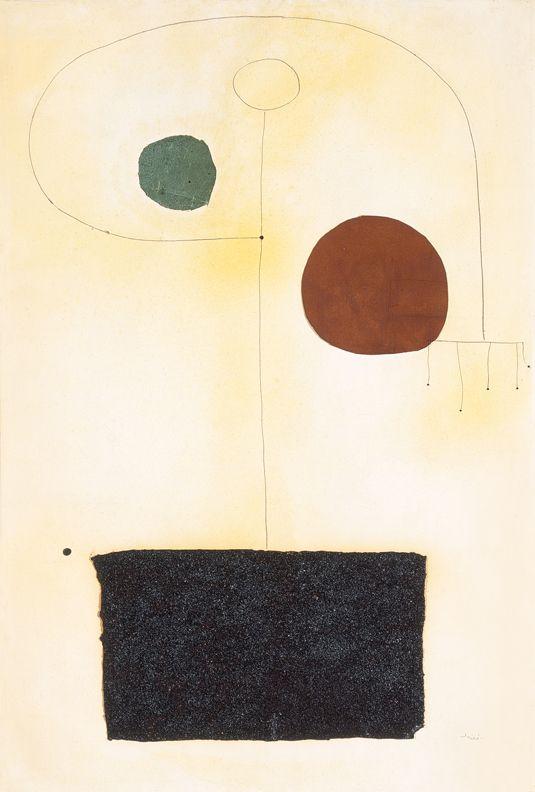 Objectualitat: escultures pintades de Joan Miró - dues capes de pintura