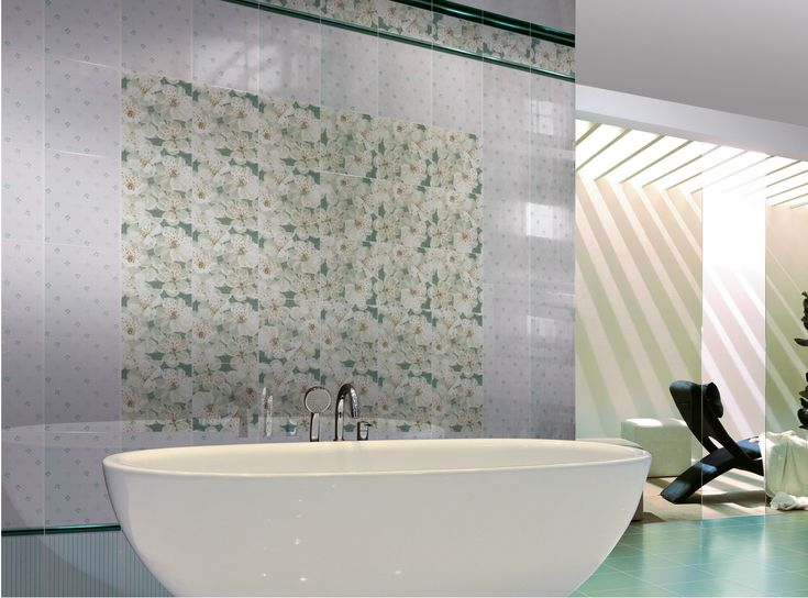 Double-fired ceramic wall tiles BLOOMING - CERAMICHE BRENNERO
