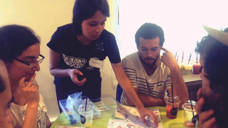 Lanzamiento Terra NovUp juego de mesa sobre innovacion en modelos de negocios. Serious Game Lanzamiento en Working Place Concepcion, Chile Autoridades de Cor...