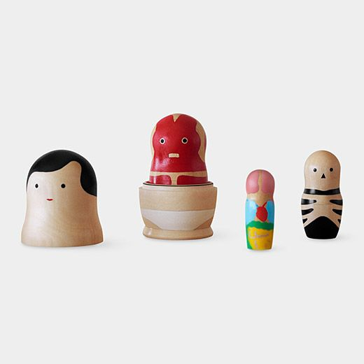 Human Anatomy Nesting Figures | Modern / Contemporary Desk Accessories | MoMA Design Store