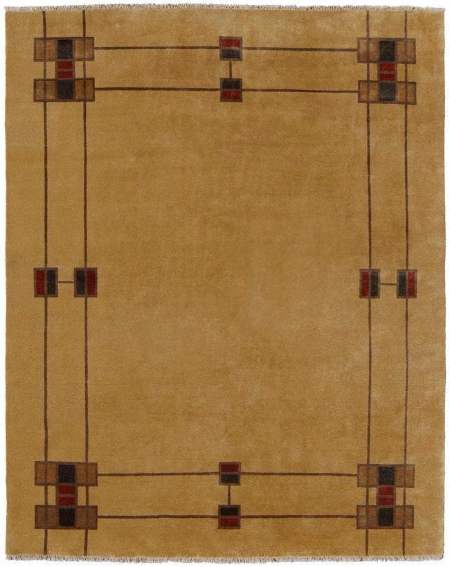 Persian Carpets Prairie Border Beige Rug