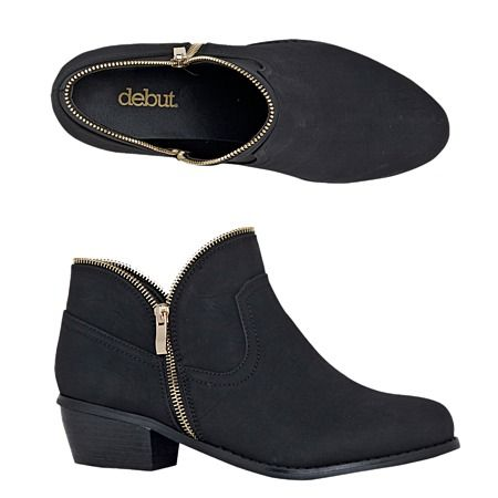 Debut Camper Ankle Boots - Boots - Women - Shoes - The Warehouse