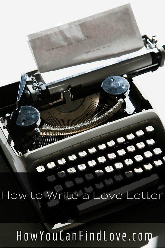 how to write a love letter to your girlfriend