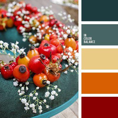алый, желтый, изумрудный, красный, насыщенный красный, оранжевый, оттенки зеленого, оттенки изумрудного, оттенки красного, подбор цвета для дома, цвет ягод, цветовое решение для интерьера, яркий красный.