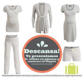 Una gran variedad de pijamas y camisones de embarazo y lactancia para que recibas a tu bebé guapa y extra-cómoda.http://www.demamis.com/descanso-y-ropa-comoda-camisones-c-57_60