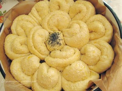 Питка Цвете/ Flower shaped bread